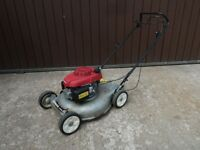 Honda HRS536C Self Propelled Mulching Lawn Mower with Side Discharge - Year 2014