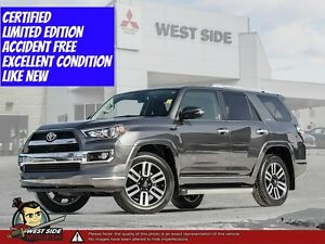 2015 Toyota 4Runner SR5–Accident Free–4WD–4.0L V6–