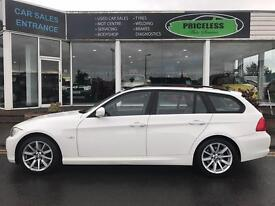 BMW 3 SERIES 320d SE 5dr (white) 2008