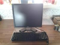 "dell 17"" monitor and keyboard"