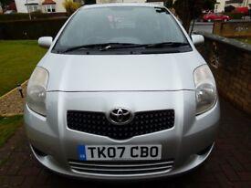 2007, Toyota Yaris, 5 Door Hatch, Diesel