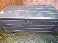 Outdoor storage chest / shed container / storage box