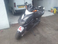 2009 Yamaha Aerox 50cc, Tax and Tested Nice Bike, Low Mileage