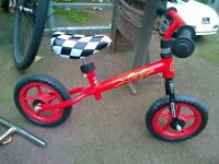 Balance bike, second hand.