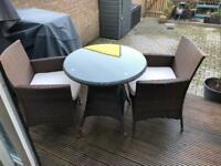 4 x Brown Rattan Chairs - New and Boxed - Sold as 2 or 4