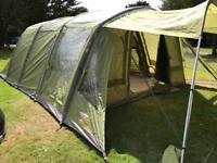 Vango Evoque 600 Airbeam Tent + Front Canopy + Carpet + Footprint Groundsheet