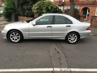 Mercedes-Benz C180 Kompressor Automatic Facelift 5 Doors, 2 Owners, Silver Very Clean Bargain