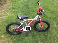 Red kids bike in great condition