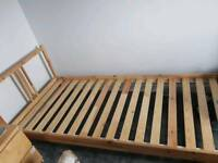 Wooden Single bed only