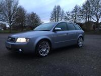 Audi A4 estate 2004 1.8 T Sport 190 BHP low mileage 84000 belt + pump changed