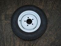 Land Rover Defender genuine steel wheel with Michelin tyre (original equipment)