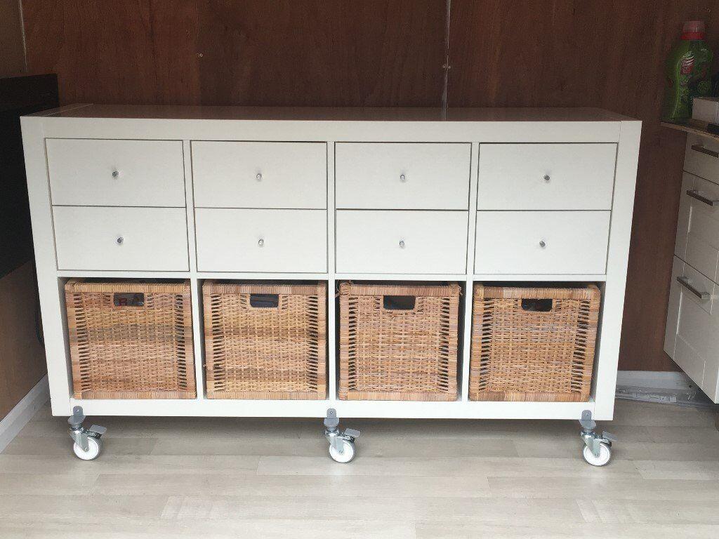 Ikea Kallax Credenza : Kallax sideboard