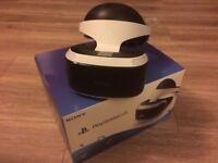 PlayStation VR Headset + Camera + PlayStation Plus Voucher