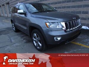 2012 Jeep Grand Cherokee OVERLAND/LEATHER/UPGRADED DUAL EXHAUST