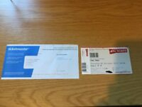 TORI AMOS NATIVE INVADER TOUR (MANCHESTER) TICKET X 1