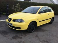 2006 seat Ibiza 1.2 3door mot July full history 90000 miles