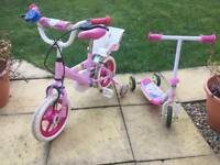 Kids bike & scooter for children toddlers 1-4 years