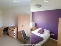 Cheap, friendly Handyman. Painting, Decorating. Maintenance. Full House Painted £379!