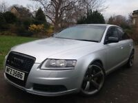 "2006 Audi A6 Auto 7 gears 2.7 Tdi Sline 19"" Black edition Rotar Alloy wheels"