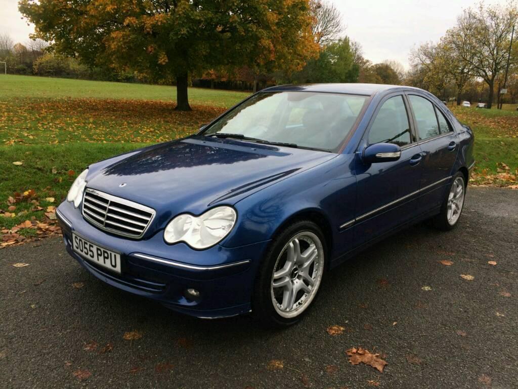 Mercedes c200 CDI Avantgarde SE AUTO 2005 (55) automatic 135000 miles. Not a4, mondeo, 320d