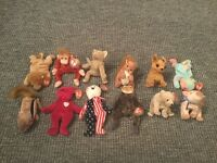 Beanie babies collection, some large , great for collectors.
