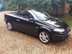 Renault Megane Cabrio, low mileage, priced to sell.