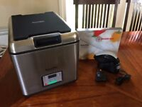 SOUSVIDE SUPREME WATER OVEN BATH, used twice, was £379