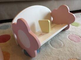 Girls bookshelf - ideal for a playroom or bedroom