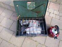 Coleman dual fuel 2 burner camping stove