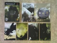 SHADOW OF THE COLOSSUS LTD EDITION + RARE STRATEGY GUIDE PS2