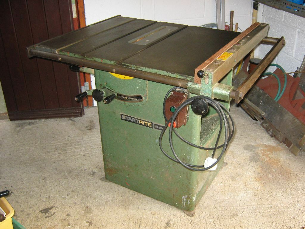 Startrite Tilt Arbor Bench Table Saw Single Phase For Sale In Gloucestershire Gumtree