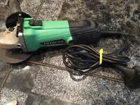 Hitachi grinder 240v