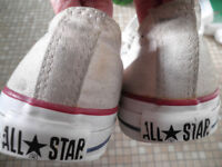 convers all star white size 8