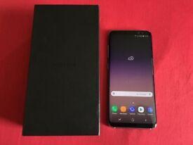 Samsung Galaxy S8 64GB Midnight Black Unlocked Boxed Up