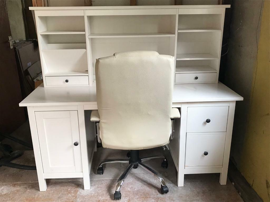 IKEA Hemnes desk and top unit  plus office chair | in Chelmsford, Essex |  Gumtree