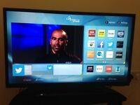 "Linsar 28"" Full HD Ultra Slim LED Smart TV with DVD & Freeview HD"