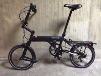 Mezzo D4 folding bike alternative to Brompton bike