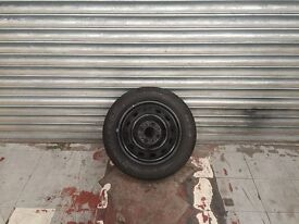 goodyear tyre on steel rim 175/60/14 new £15
