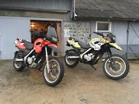 BMW F650GS BRAKING FOR PARTS