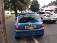 Renault clio mk2 auto 52000 miles in blue
