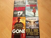 Books - 4 James Patterson Thrillers