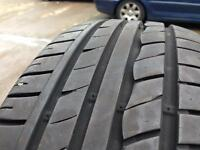 185 55 14 tyre 5mm tread £9.00