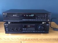 Stereo sound system,amplifier and CD player with ramote