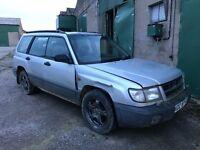 1997 SUBARU FORESTER 2.0 PETROL 4X4 *FIELD CAR* not Freelander Terios RAV4