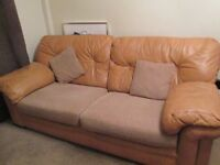 G PLAN THREE SEATER AND TWO SEATER SOFAS