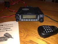 Yaesu FT-7800 Dual Band Transceiver (VHF/UHF)