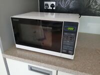 Sharp 800W Microwave in White