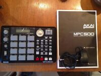 MPC 500, MINT CONDITION, LIKE NEW