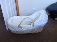 Mamas and Papas Moses basket good condition. Smoke free home