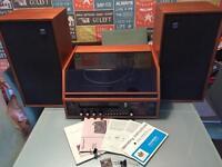 Dynatron srx26 vintage record player retro lp